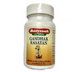 Гандхак Расаяна Baidyanath 40 табл