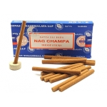 Безосновное благовоние Nag Champa Satya 12шт